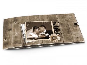 aperu rapide remerciements mariage bois vieilli - Carte Remerciement Mariage Original