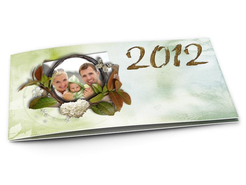 Cartes de voeux famille - Composition florale