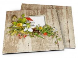 Faire-part mariage - Un printemps flamboyant