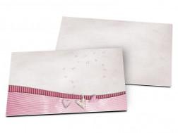 Carton d'invitation mariage - Feuillage et parasol