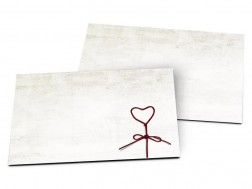 Carton d'invitation mariage - Nid d'amour