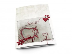 Menu mariage - Nid d'amour