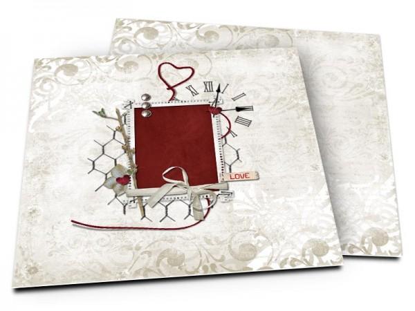 Faire-part mariage - Un mariage intemporel