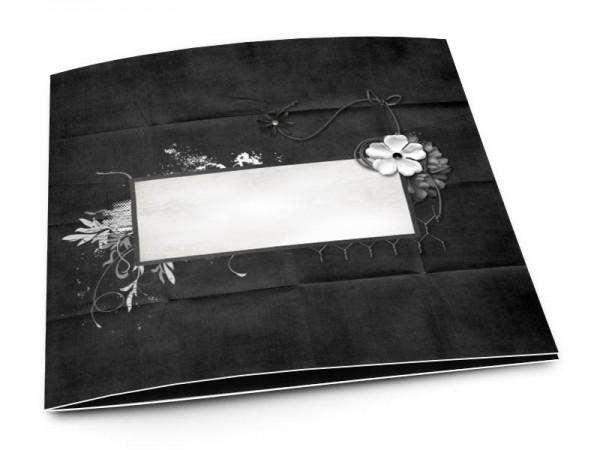 Faire-part mariage - En noir et blanc
