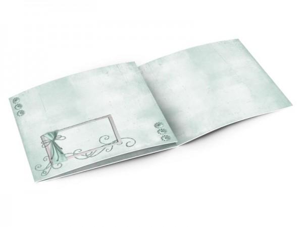 Faire-part mariage - Arabesque turquoise