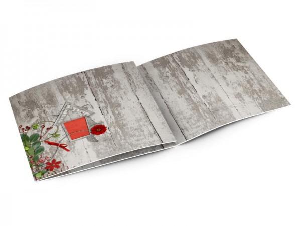 Faire-part mariage - Le nichoir à oiseaux creusé