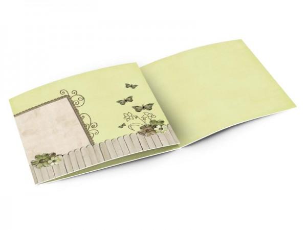 Faire-part mariage - Champêtre – les quatre papillons