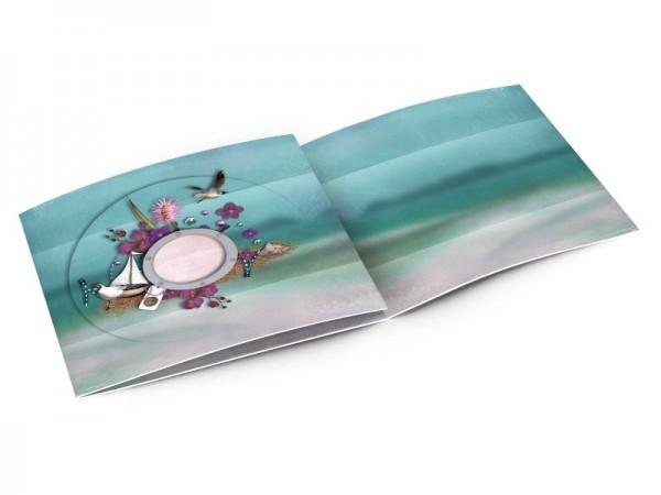 Faire-part mariage - La mer – le hublot
