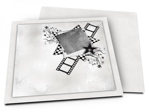Faire-part mariage - Le cinéma – le septième art