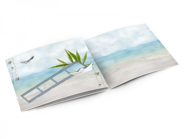 Faire-part mariage - Les îles – plage tropicale