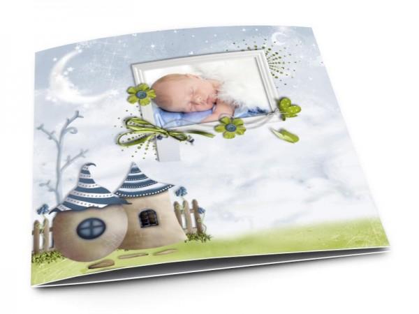 Faire-part naissance - Un rêve bleu