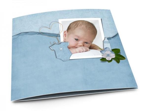 Faire-part naissance - Rêve bleu