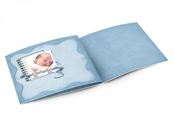Faire-part naissance - Bloc note