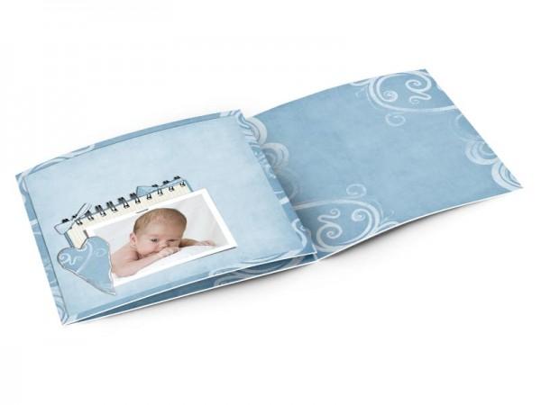 Faire-part naissance - Coeur en papier