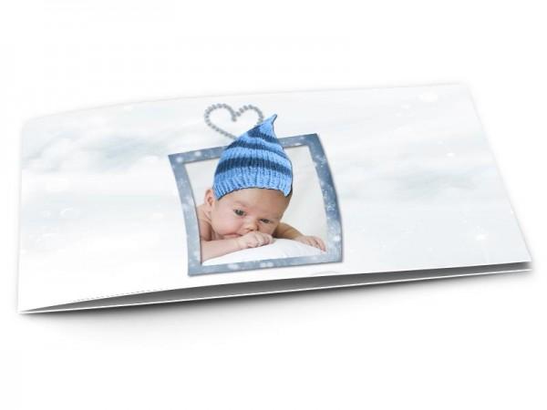 Faire-part naissance - Bonnet péruvien