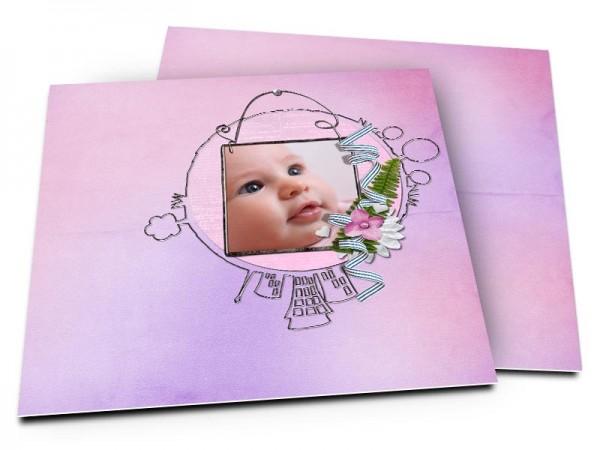 Faire-part naissance - Le monde de bébé