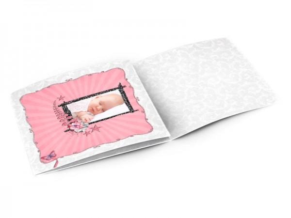 Faire-part naissance - La poussette de bébé