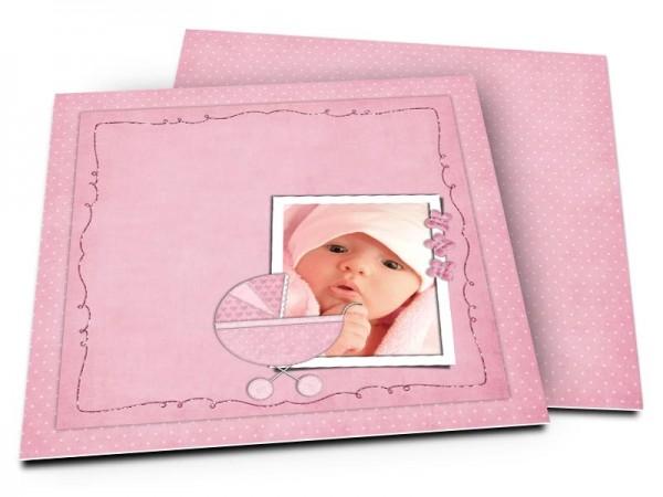Faire-part naissance - Fenêtre photo