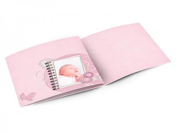 Faire-part naissance - Les objets de bébé