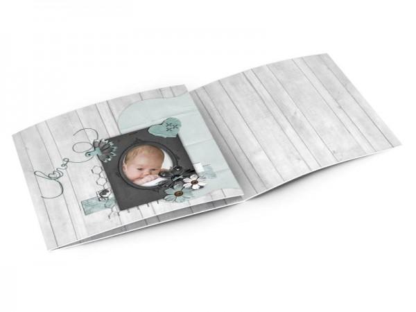 Faire-part naissance - Portrait love