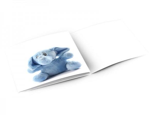 Faire-part naissance - L'éléphant bleu