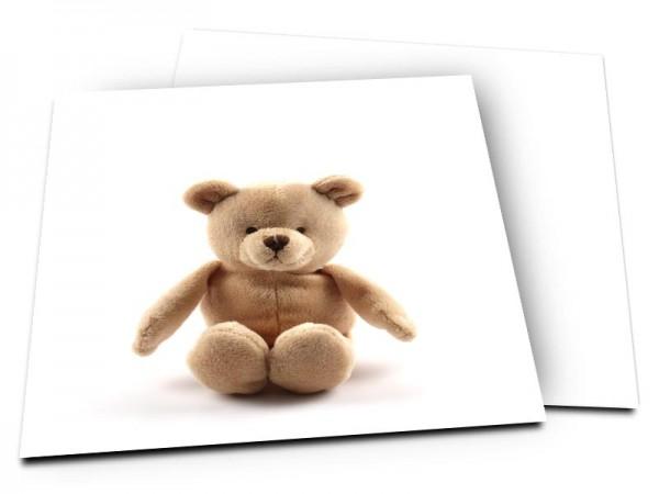 Faire-part naissance - L'ourson marron