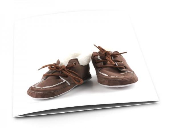 Faire-part naissance - Mes petits souliers