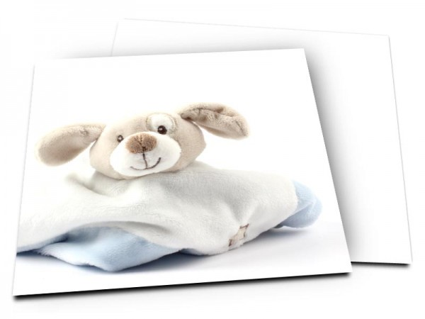 Faire-part naissance - Mon doudou préféré