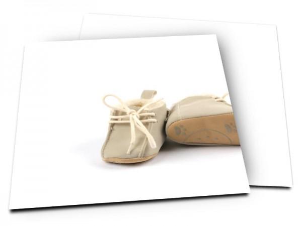 Faire-part naissance - Chaussures bébé