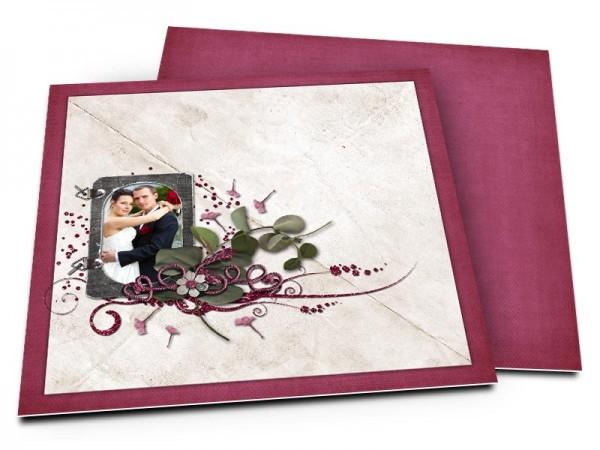 Remerciements mariage - Graines dispersées par le vent