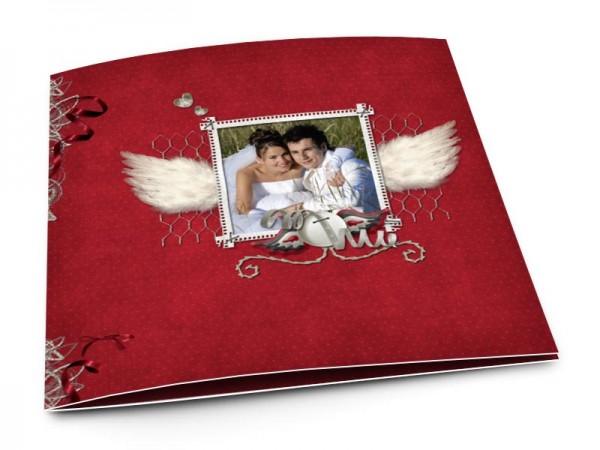 Remerciements mariage - Les ailes de l'amour