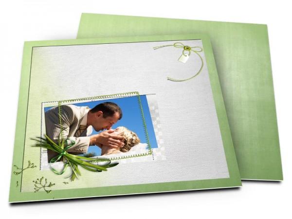 Remerciements mariage - Végétal
