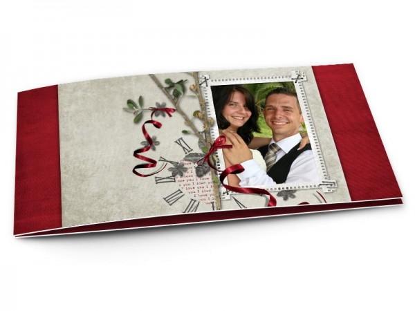 Remerciements mariage - Le temps de l'amour