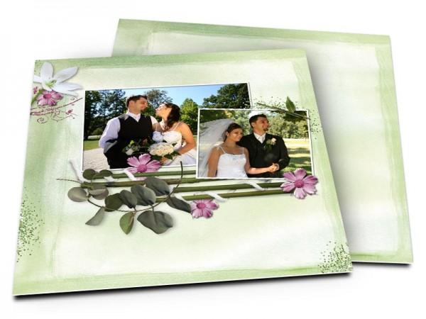 Remerciements mariage - Le printemps qui chante