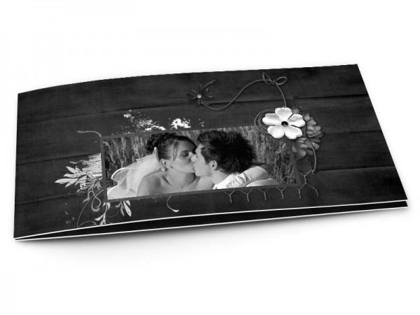 Remerciements mariage - En noir et blanc