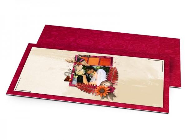 Remerciements mariage - Joie d'automne