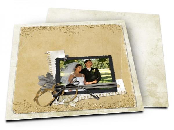 Remerciements mariage - Carnet d'amour