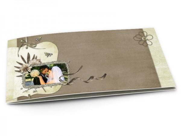 Remerciements mariage - Rubans et libellules