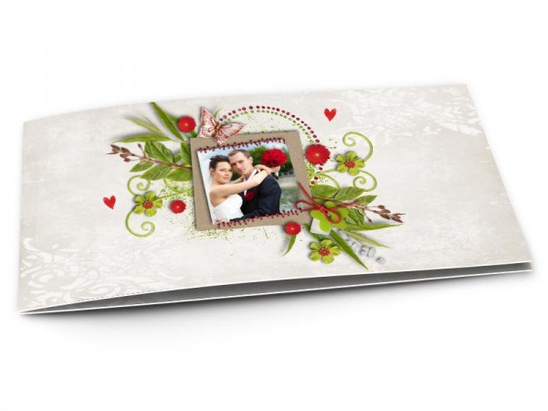 Remerciements mariage - Un souffle printanier