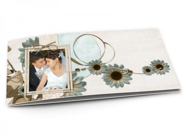 Remerciements mariage - Le fil des fleurs