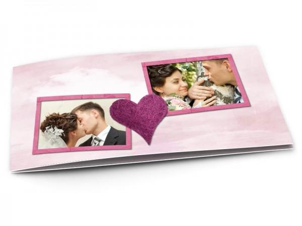 Remerciements mariage - L'amour triomphant