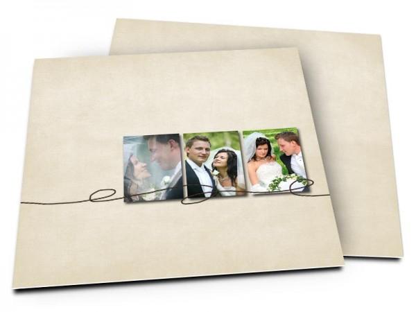Remerciements mariage - Au fil des jours...