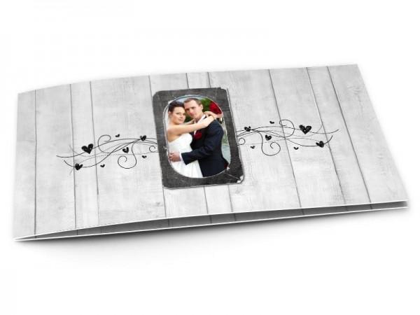 Remerciements mariage - Aux portes du bonheur