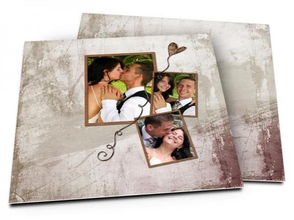 Remerciements mariage - L'envol du coeur
