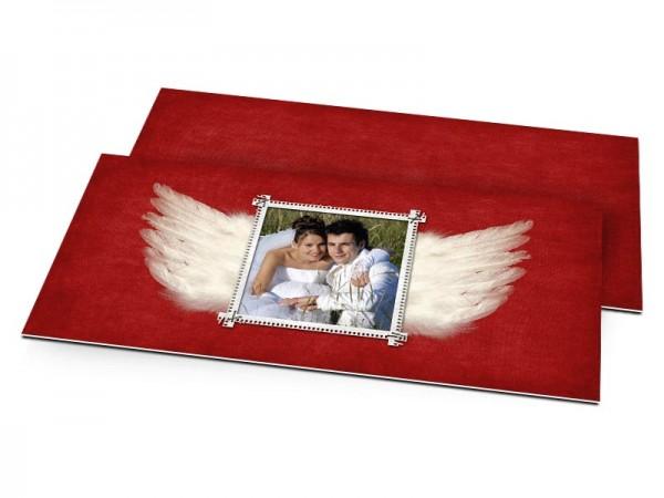 Remerciements mariage - Les ailes de la passion