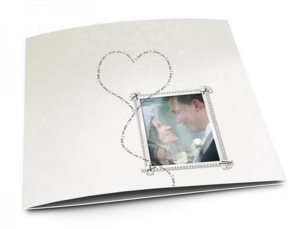 Remerciements mariage - L'envol de l'amour