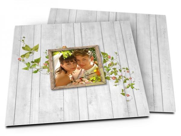 Remerciements mariage - Lierre en fleur