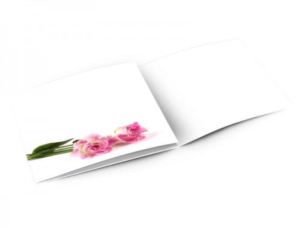 Remerciements mariage - Narcisses allongées