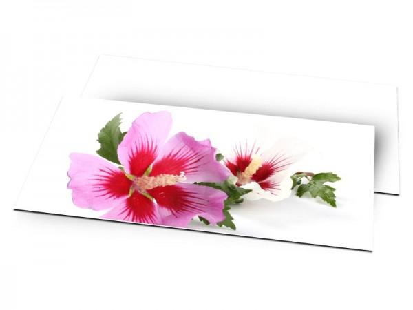 Remerciements mariage - Un bouquet printanier