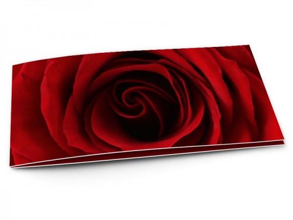 Remerciements mariage - La rose éternelle